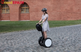 Plans to ban the use of segways, electronic scooters, and other types of personal transport in the center of Barcelona